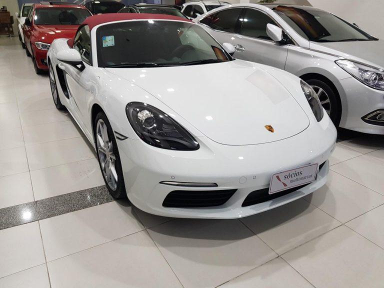 Porsche 718 Boxster Branca
